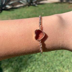 Gorgeous heart bracelet
